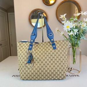 Gucci GG Logo Supreme Totes Shoulder Bag